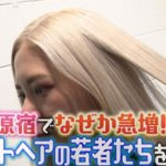 【マツコ会議】ホワイトヘア急増!その理由も深堀。美容院調査報告!